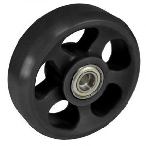 Black Wheelie Wheel