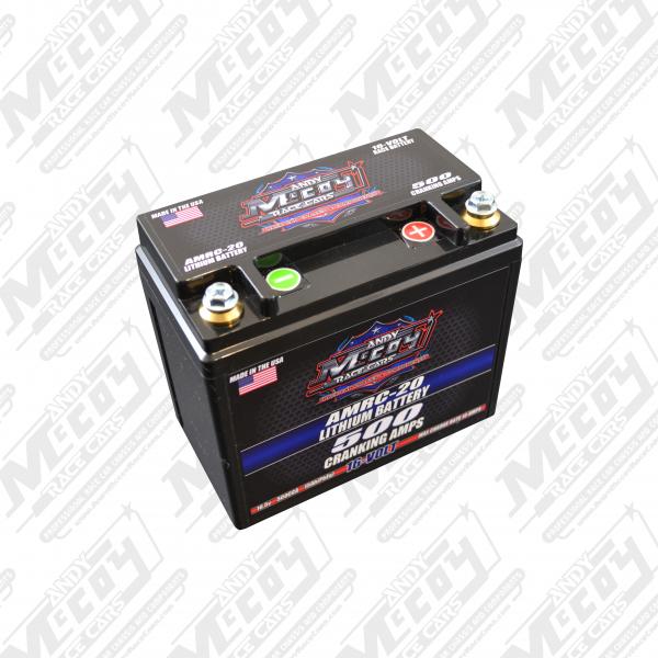 Andy McCoy Race Cars 16-Volt Battery
