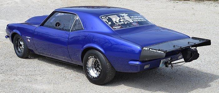 67 69 Camaro Wing Andy Mccoy Race Cars