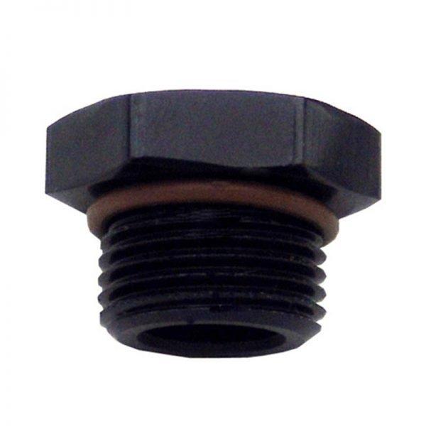 Straight Thread O-Ring Plug -8AN