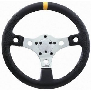 "13"" Grant Performance GT Silver Anodized Steering Wheel"