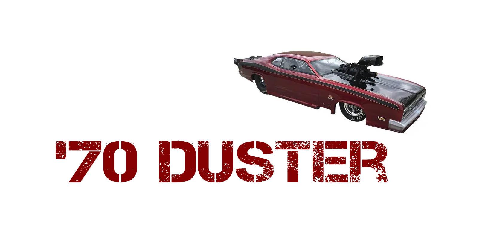 70 Duster Carbon fiber body kit
