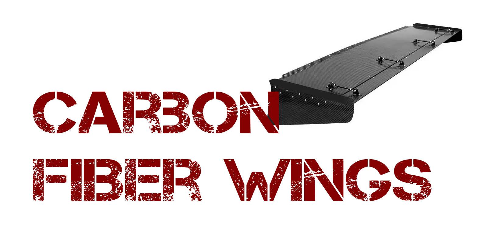 Carbon Fiber Wings